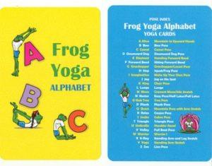 Yoga Alphabet Cards